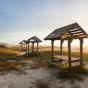 Beach Tables and Cabanas - Port Aransas, Texas