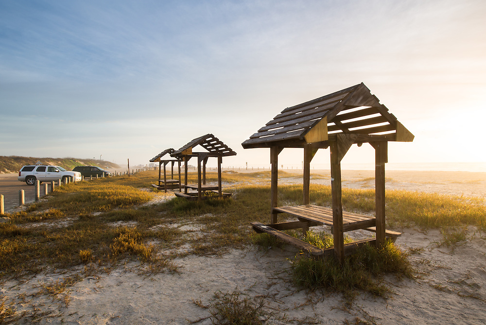 Beach Tables and Cabanas - Port Aransas, Texas