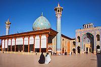 Iran, province du Fars, Shiraz, mausolée de Shah Cheragh // Iran, Fars Province, Shiraz, Shah Cheragh mausoleum