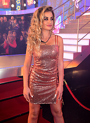 Chloe Ayling enters the house during the Celebrity Big Brother Launch Night at Elstree Studios, Hertfordshire.