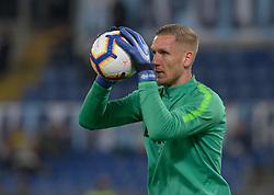 March 2, 2019 - Rome, Lazio, Italy - Robin Olsen of AS Roma during the Italian Serie A football match between S.S. Lazio and A.S Roma at the Olympic Stadium in Rome, on march 02, 2019. (Credit Image: © Silvia Lore/NurPhoto via ZUMA Press)