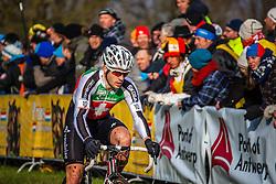 Julien TARAMARCAZ (10,SUI) 1st lap at Men UCI CX World Championships - Hoogerheide, The Netherlands - 2nd February 2014 - Photo by Pim Nijland / Peloton Photos