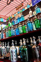 Bottles fro sale in San Telmo Market, Buenos Aires, Argentina Image by Andres Morya