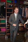 JEREMY HACKETT, Opening of new Hackett flagship store. Regent St. London. 28 November 2013.