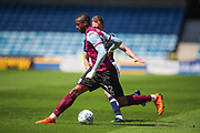 Jonathan Kodjia (22) during the EFL Sky Bet Championship match between Millwall and Aston Villa at The Den, London, England on 6 May 2018. Picture by Toyin Oshodi.