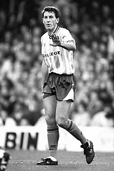 Terry Butcher Coventry City, Coventry City v Liverpool, Highfield Road,  1991