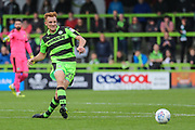 Forest Green Rovers Mark Roberts(21) runs forward during the EFL Sky Bet League 2 match between Forest Green Rovers and Accrington Stanley at the New Lawn, Forest Green, United Kingdom on 30 September 2017. Photo by Shane Healey.
