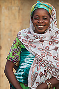 Balila's mother Kande at their home in Tinguri, Northern Ghana.