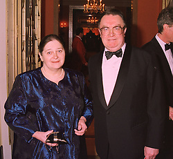 The RUSSIAN AMBASSADOR MR YURI FOKINE & MRS FOKINE at a reception in London on 16th March 1998.MGB 49