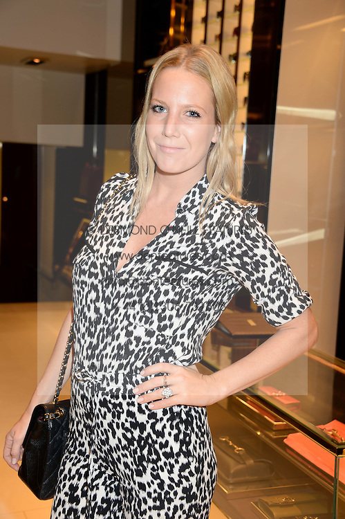ALICE NAYLOR-LEYLAND at a party hosted by Gucci & Clara Paget to drink a new cocktail 'I Bamboo You' held at Gucci, 34 Old Bond Street, London on 16th October 2013.