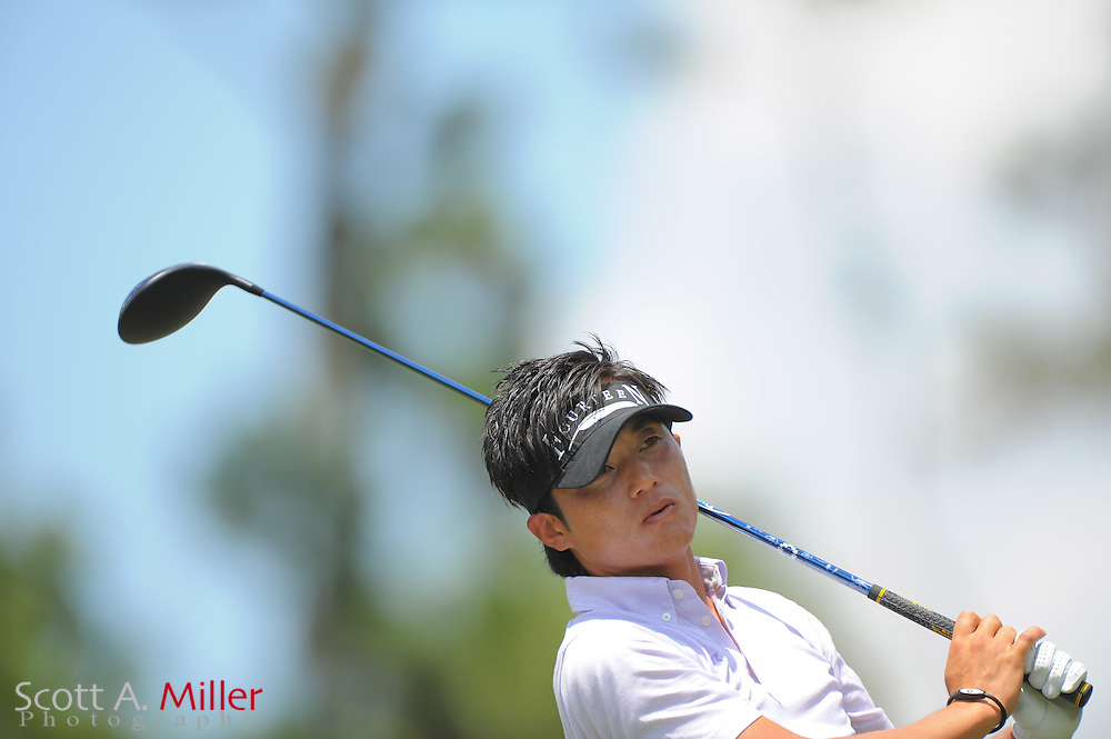 Ryuji Imada during a practice round prior to the Players Championship at the TPC Sawgrass on May 9, 2012 in Ponte Vedra, Fla. ..©2012 Scott A. Miller.