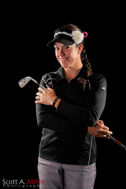 Izzy Beisiegel during a portrait shoot prior to the LPGA Future Tour's Daytona Beach Invitational at LPGA International's Championship Courser on March 28, 2011 in Daytona Beach, Florida... ©2011 Scott A. Miller