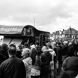 Team WIGGINS attracted the attention of plenty of fans.
