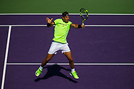 KEY BISCAYNE, FL - MARCH 28: Miami Open during the Miami Open at the Crandon Park Tennis Center on March 28, 2017 in Key Biscayne, Florida.