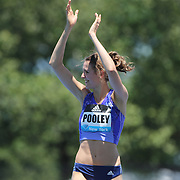 Isobel Pooley, Great Britain, in action during the Women's High Jump Competition at the Diamond League Adidas Grand Prix at Icahn Stadium, Randall's Island, Manhattan, New York, USA. 13th June 2015. Photo Tim Clayton