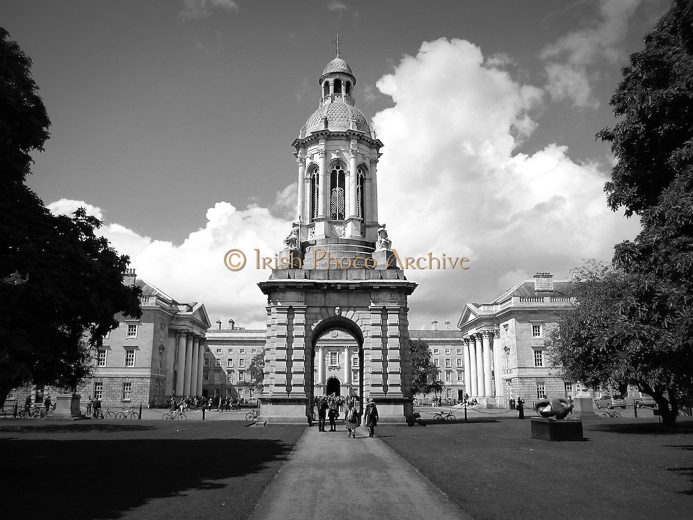 Trinity College Campanile, Trinity University, Dublin, 1853,