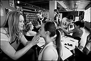 A weekend Model Camp for teenage girls at Red Eleven model agency, Auckland.