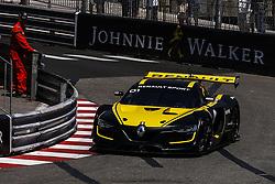 May 25, 2018 - Montecarlo, Monaco - Alain Prost  driving a Renault Sport R.S. 01 during the Monaco Formula One Grand Prix  at Monaco on 25th of May, 2018 in Montecarlo, Monaco. (Credit Image: © Xavier Bonilla/NurPhoto via ZUMA Press)