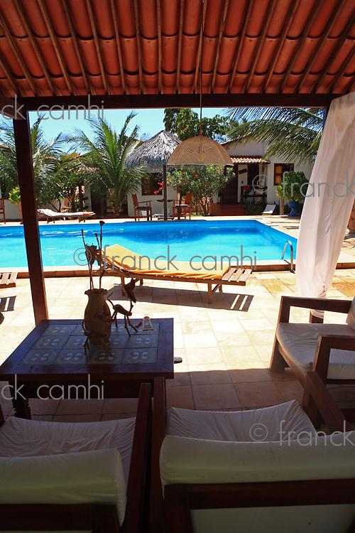 swimming pool in the resort in brazil