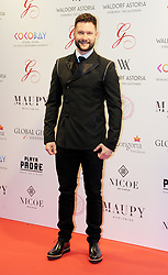 The Global Gift Gala Red Carpet, Wednesday 17th May 2017<br /> <br /> Calum Scott arrives on the red carpet<br /> <br /> The Global Gift Gala is a unique international initiative from the Global Gift Foundation, a charity founded by Maria Bravo that is dedicated to philanthropic events worldwide; to help raise funds and make a difference towards children and women across the globe.<br /> <br /> Charities benefiting from the 2017 Edinburgh Global Gift Gala include the  Eva Longoria Foundation, which aims to improve education and provide entrepreneurial opportunities for young women;  Place2Be which provides emotional and therapeutic services in primary and secondary schools, building children's resilience through talking, creative work and play; and the Global Gift Foundation with the opening of their first 'CASA GLOBAL GIFT', providing medical treatments and therapy for children affected by rare disease.<br /> <br /> (c) Aimee Todd | Edinburgh Elite media