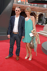 TOM & CYNTHIA CONRAN at the Royal Academy of Art Summer Exhibition Preview Party on 4th June 2008.<br />