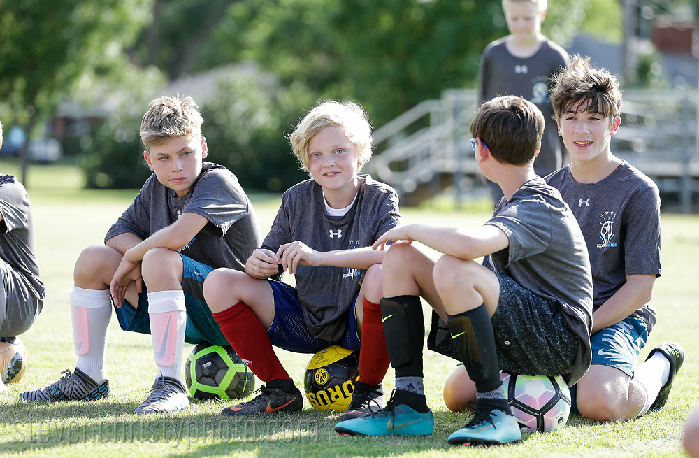 June 20, 2018: Soccer Allies Camp is held at Casady High School in Oklahoma City, Oklahoma.