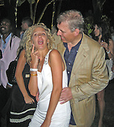 **EXCLUSIVE**.Prince Andrew with American Interior Designer, Chris Von Aspen, dancing and having fun at a Party in a Private Villa in St. Stropez, France..Wednesday, July 25, 2007.Photo By Celebrityvibe.com.To license this image please call (212) 410 5354; or.Email: celebrityvibe@gmail.com ;.