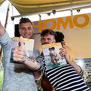 NLD/Amsterdam20160627 - Presentatie L'Homo 2016, Jan Versteegh en Tim Hofman