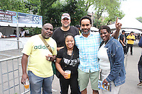 """Hyde Park welcomed Brew Fest this past weekend. Hyde Parkers enjoyed two days of music and beer. The event was located in the parking lot across from the Hyde Park Neighborhood Club on 55th and Kenwood.<br /> <br /> 3686 - Darius Bright, Stacy Goodar, Harry Parson of Velocity Mobile Marketing, Donald and Michele Haughton of ACBMLLC enjoyed the evening Sunday.<br /> <br /> All rights to this photo are owned by Spencer Bibbs of Spencer Bibbs Photography and may only be used in any way shape or form, whole or in part with written permission by the owner of the photo, Spencer Bibbs.<br /> <br /> For all of your photography needs, please contact Spencer Bibbs at 773-895-4744. I can also be reached in the following ways:<br /> <br /> Website – www.spbdigitalconcepts.photoshelter.com<br /> <br /> Text - Text """"Spencer Bibbs"""" to 72727<br /> <br /> Email – spencerbibbsphotography@yahoo.com"""