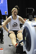Birmingham, Great Britain,   Women's open weight champion at the British Indoor Rowing Championships, National Indoor Arena, NIA, Debbie FLOOD Beijing Silver Medalist, In Women's Quad, Sun, 22.11.2009  [Mandatory Credit. Peter Spurrier/Intersport Images]