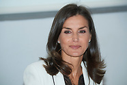091019 Queen Letizia attends a Working meeting: 'The inclusion of disability in the media'