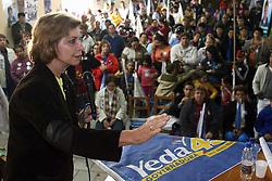 A candidata ao governo do Estado do RS, Yeda Crusius durante inauguração do comitê Yeda-Proença - Berfran, no Centro Eldorado do Sul. FOTO: Jefferson Bernardes/Preview.com