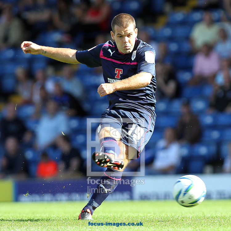 Picture by Michael Sedgwick/Focus Images Ltd +44 7900 363072.08/09/2012.John Welsh of Preston North End in action against Bury during the npower League 1 match at Gigg Lane, Bury.