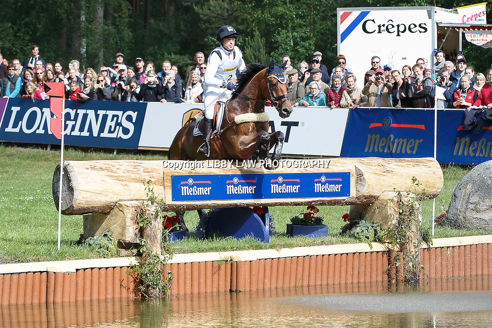 GER-Michael Jung (LA BIOSTHETIQUE-SAM FBW) INTERIM-3RD: CCI4* CROSS COUNTRY: 2015 GER-DHL Luhmühlen CCI4* (Saturday 20 June) CREDIT: Libby Law COPYRIGHT: LIBBY LAW PHOTOGRAPHY