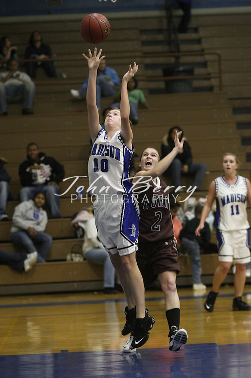 MCHS Varsity Girl's Basketball.vs Luray.11/29/2007..