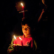 Midnight candlelight walk and Christmas activities in Maya Village, Namasiya Township, Kaohsiung County, Taiwan,  December 21st, 2008