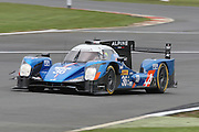 36 LMP2 Signatech Alpine / Alpine Nissan / Gustavo Menezes / Nicolas Lapierre / Stephane Richeimi during the FIA World Endurance Championship at Silverstone, Towcester, United Kingdom on 15 April 2016. Photo by Craig McAllister.