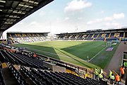 A general view of the stadium before the EFL Sky Bet League 2 match between Notts County and Mansfield Town at Meadow Lane, Nottingham, England on 16 February 2019.