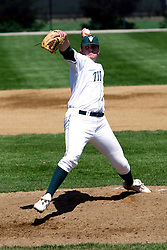 21 April 2007:  Titan Starting pitcher Matt Aronson. Carthage College loses the first game of a double header by a score of 5-2 against the Illinois Wesleyan Titans.
