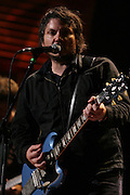 TINLEY PARK, IL - SEPTEMBER 18: Jeff Tweedy and his band Wilco perform live at the 20th Anniversary Farm Aid concert benefiting the family farmers affected by Hurricane Katrina September 18, 2005 at The Tweeter Center Chicago, in Tinley Park, Illinois. (Photo by Matt Carmichael)
