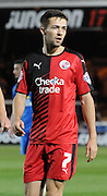 Gwion Edwards in action during the Capital One Cup match between Peterborough United and Crawley Town at London Road, Peterborough, England on 11 August 2015. Photo by Michael Hulf.