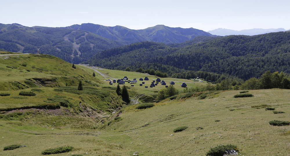 Eco katun 'Vranjak' on Bjelasica mountain,  Montenegro.