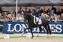 Van Der Putten Marieke, NED, Jameson RS2<br /> World Championship Young Dressage Horses - Ermelo 2019<br /> © Hippo Foto - Dirk Caremans<br /> Van Der Putten Marieke, NED, Jameson RS2