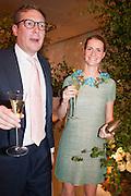 ED GRANT; CHLOE DELEVIGNE, The Cartier Chelsea Flower show dinner. Hurlingham club, London. 20 May 2013.