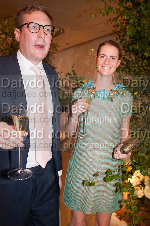 ED GRANT; CHLOE DELEVIGNE, The Cartier Chelsea Flower show dinner. Hurlingham club, London. 20 May 2013.