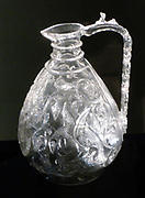 Rock Crystal Ewer, Egypt, probably Cairo 1000-50.