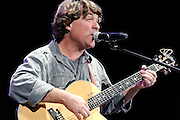 """Photos of guitarist Keller Williams performing at City Parks Foundation's SummerStage gala event, """"The Music of Jimi Hendrix"""", at Rumsey Playfield in Central Park, NYC. June 5, 2012. Copyright © 2012 Matthew Eisman. All Rights Reserved."""
