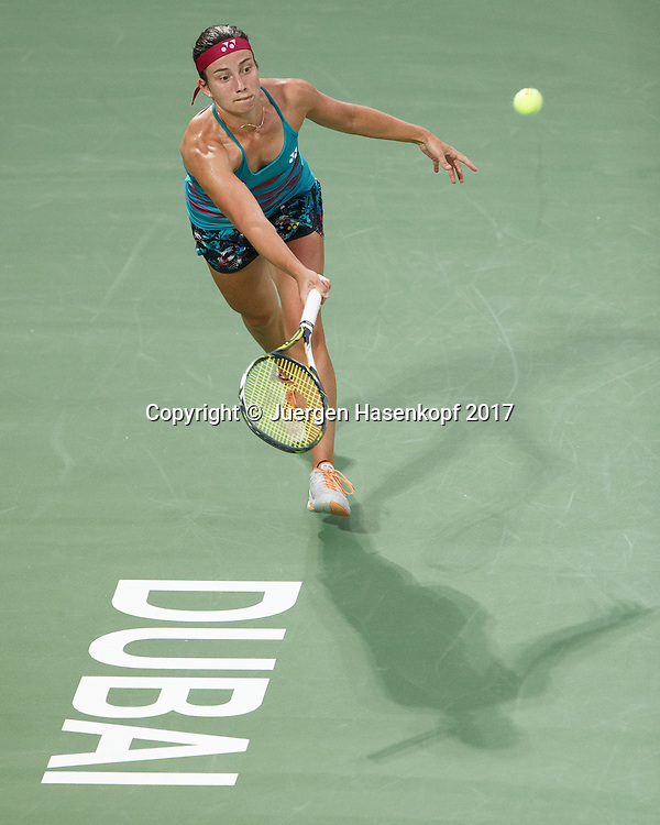 ANASTASIJA SEVASTOVA (LAT)<br /> <br /> Tennis - Dubai Tennis Championships 2017 -  WTA -  Dubai Duty Free Tennis Stadium - Dubai  -  - United Arab Emirates  - 25 February 2017.