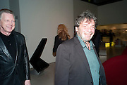 JOHN STEPHEN; JEAN BERNARD, Ron Arad; Restless. Cocktail reception hosted by Kate Bush of the Barbican and Tony Chambers of Wallpaper magazine. Barbican art Gallery. London. 17 September 2010