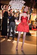 KARLIE KLOSS; DEREK BLASBERG; NATALIA VODIANOVA, The World's First Fund Fair  in aid of Natalia Vodianova's charity the Naked Heart Foundation. The Roundhouse. London. 24 February 2015.